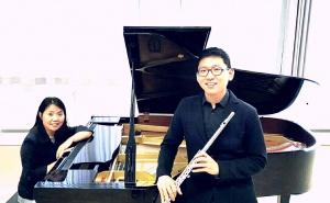 Klavier und Querflöte ...