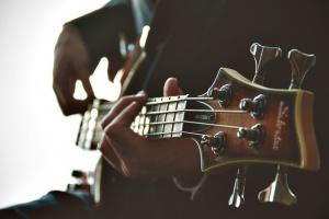 Rock-Session mit Hannes Bauer ...