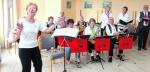 Musikgruppe Oberneuland spielt ...