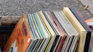 Alte Schallplatten ...